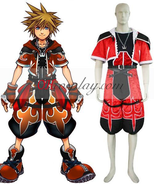 Kingdom Hearts 2 Sora Brave Form Cosplay Costume