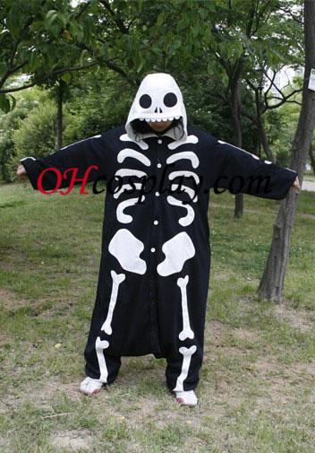 Esqueleto Kigurumi Pijamas Traje Humanos
