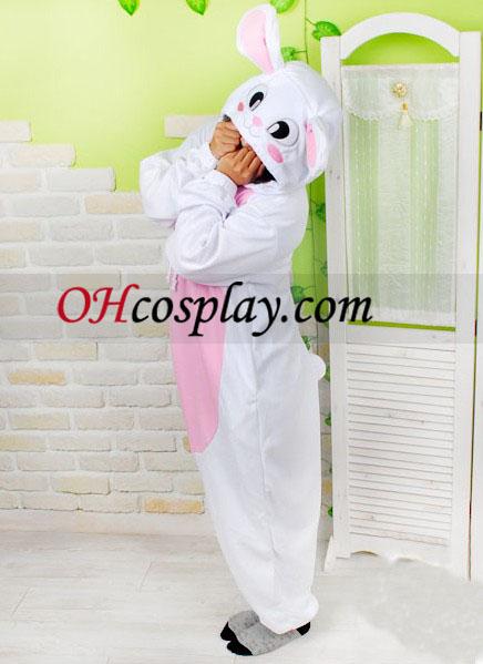 Sladké Zajac Kigurumi kroj pyžamy