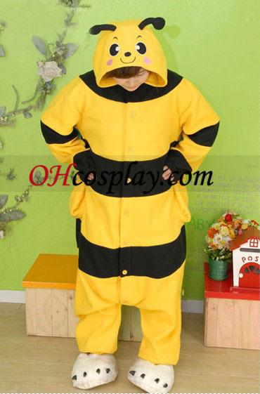 Kigurumi kroj pyžamy včela medonosná