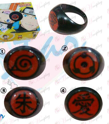 4 models Naruto Ring (a)