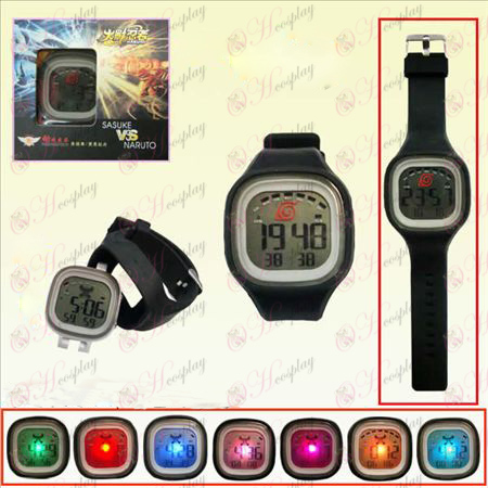 Naruto konoha multifunction electronic watch