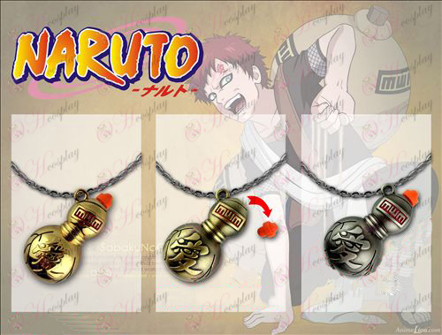 Naruto openings gourd necklace 3 colors available Halloween Accessories Online Store