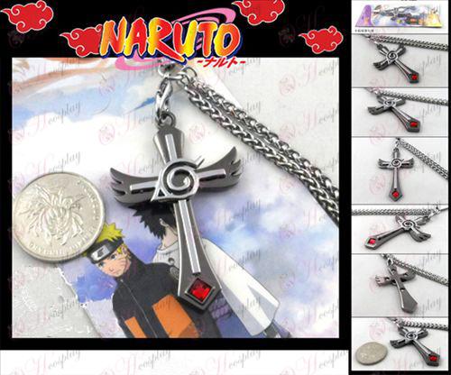 Naruto Konoha maskingevær farge tau