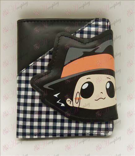 Checkered wallet (in Bourne) alloween Accessories Online Store