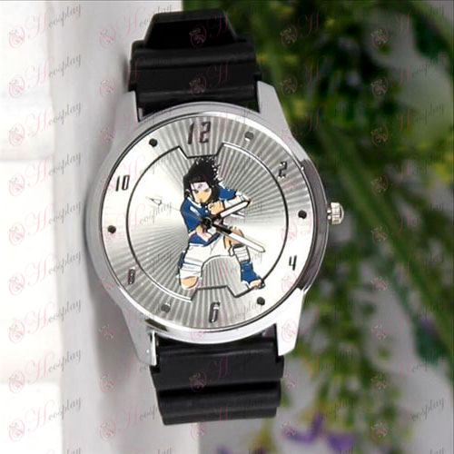 Naruto Sasuke Mark Circle lines watches