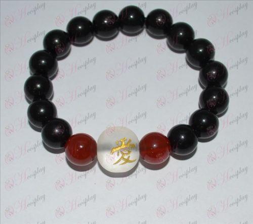 Naruto Gaara flag Agate Bracelet