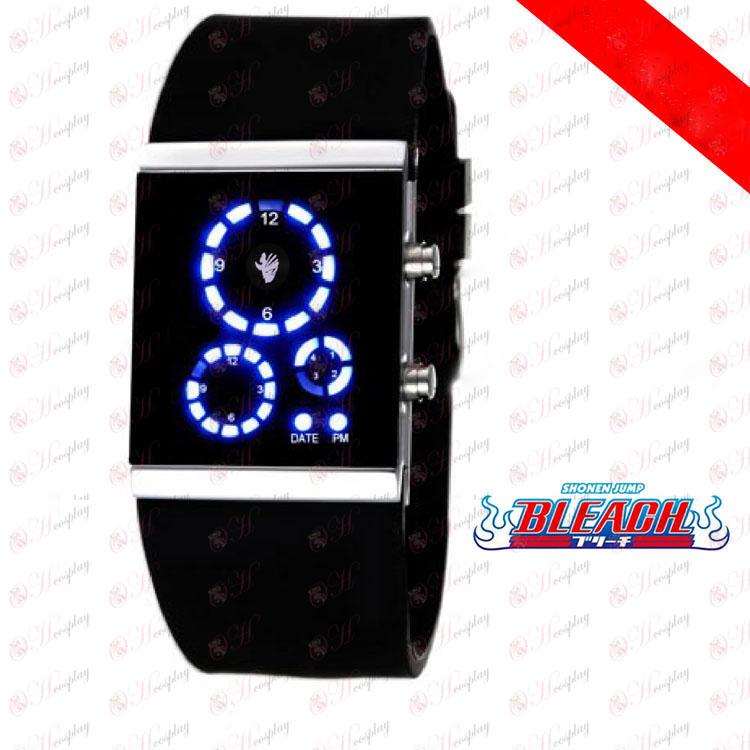 Bleach Príslušenstvo členia povrch LED hodinky kórejskej verzii čiernou vlajkou