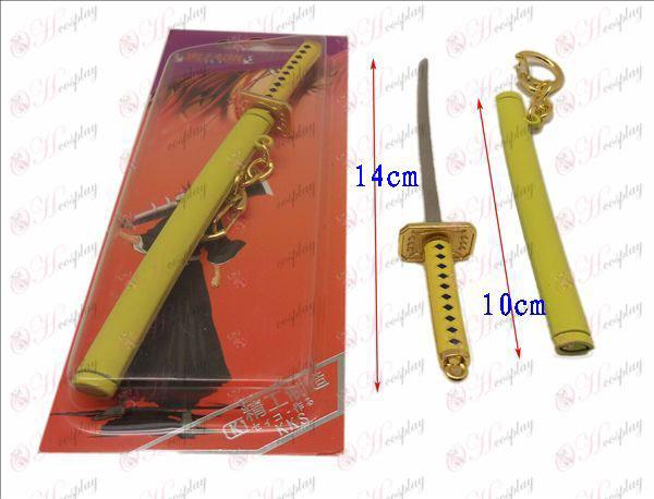 DBleach Príslušenstvo plávajúce bambusové štrnásť Lang Blíženci spony nôž plášť kapra