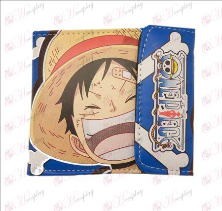 One Piece Tilbehør farget snaps lommebok