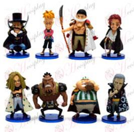 48 One Piece Tarvikkeet puolesta kahdeksan pohja (box)