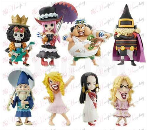 73 puolesta kahdeksan One Piece Tarvikkeet nukke kehto