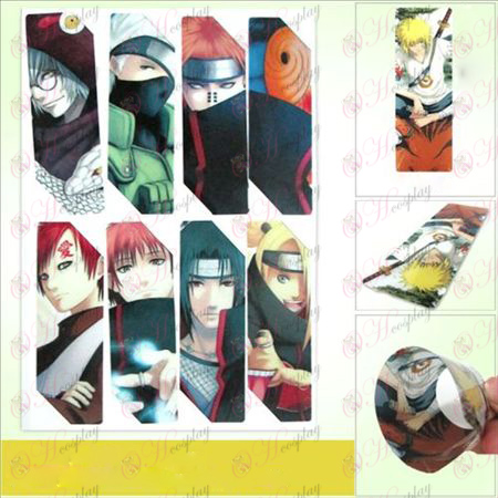 SQ018-Naruto anime big Bookmarks (5 version of the price)