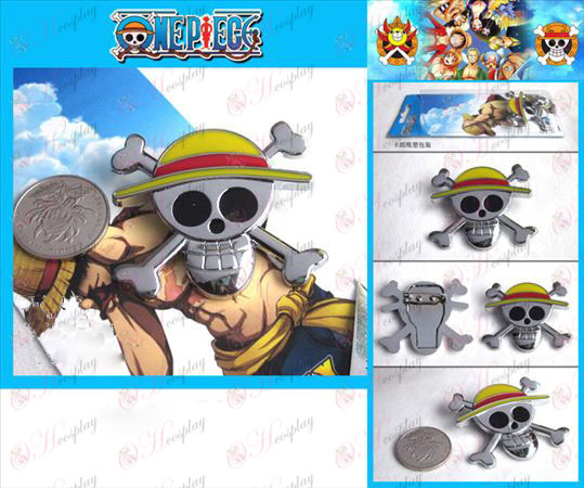 One Piece Accessories Brooches