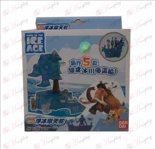 Aito jäätikkö Corsair (04 jäälautta maailmanpyörä)