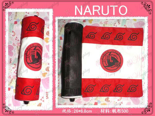 Naruto flag Reel Pen (červená)