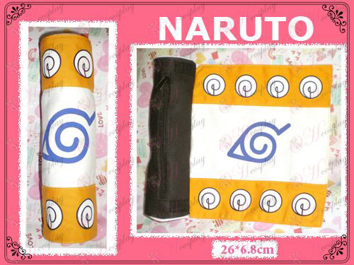 Naruto Konoha Scroll Pen (oranžová)