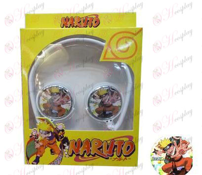 Stereo headset can be folded commutation Naruto a headset