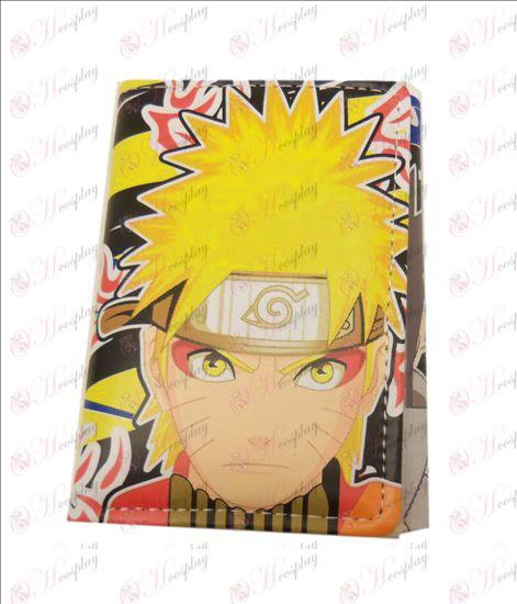 Naruto rozkladacia kožená peňaženka