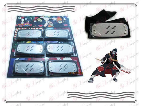 Organizations Naruto dawn fog endure six mounted black headband
