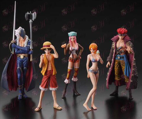 42 Generation 5 models One Piece Accessories Doll (small POP's supernova series)