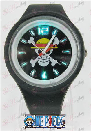 Colorful flashing lights sport watches-One Piece Accessories