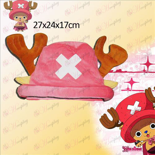 One Piece Chopper doplnky Pink Hat