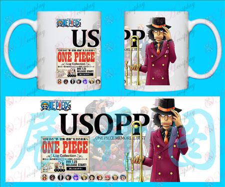 H-One Piece Accesorios Tazas Usopp