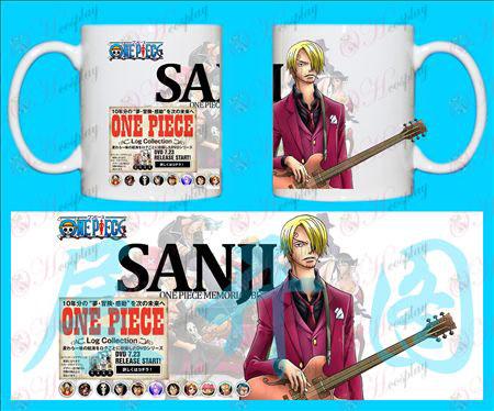 Accesorios H-One Piece Sanji taza-