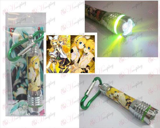 Mute twin mini flashlight Halloween Accessories Online Store