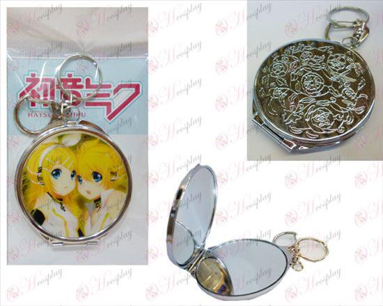 Mute twin round mirror Halloween Accessories Online Store