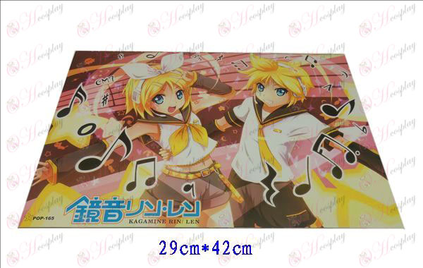 42 * 29cm mirror tone embossed posters (8 / set)