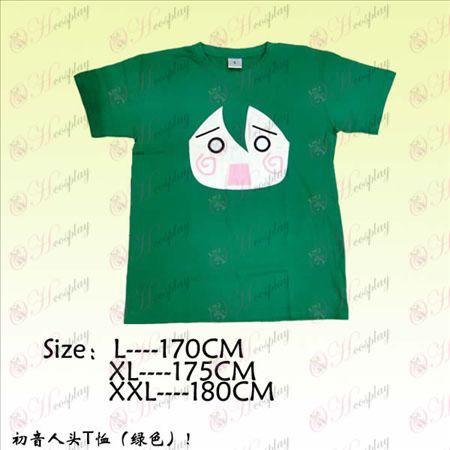 Hatsune head T-skjorte