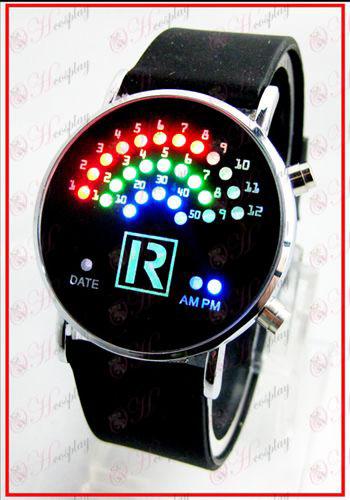 Colorido ventilador relojes coreanos LED - The Prince of Tennis Accesorios