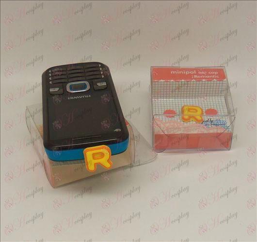 Teléfono celular enchufe del auricular (amarillo neta rey)