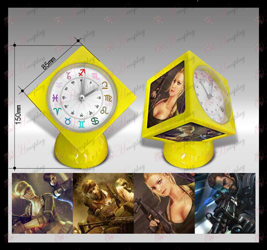 CrossFire Accessories Cube Alarm Clock