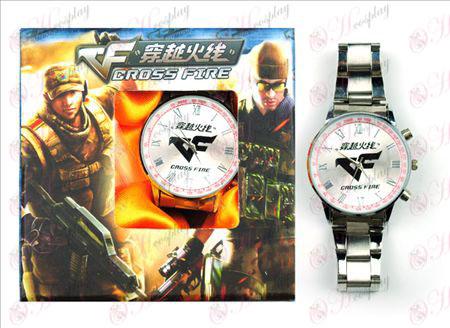 CrossFire Tarvikkeet logo Watch (Punainen)