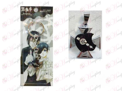 Black Butler Accessories Apple Series Compact Keychain
