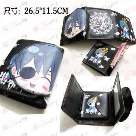 Black Butler Accessories Q version of Charles wallet