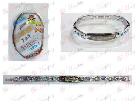 Black Butler Accessories Compact stainless steel diamond bracelet