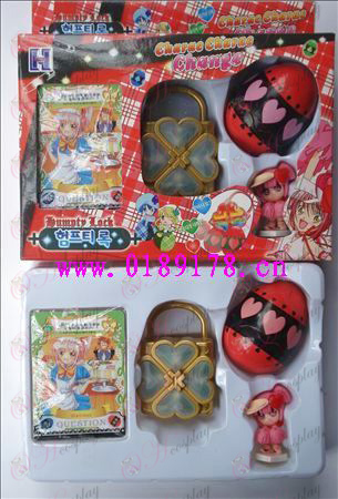 Shugo Chara! Accesorios solo paquete La caja de música (rojo)