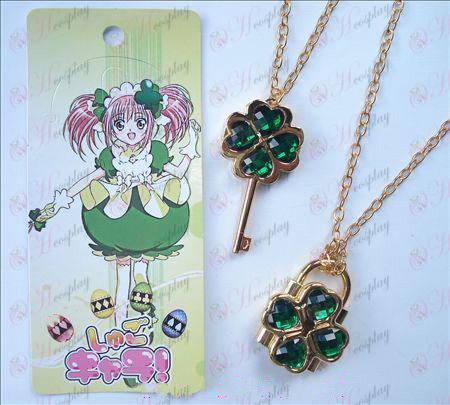 Shugo Chara! Accesorios móvil collar (verde)
