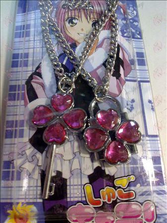 Shugo_Chara!アクセサリーネックレス(ピンク)
