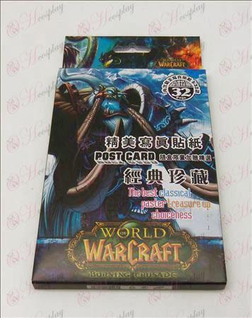32 World of Warcraft Accesorios Pegatinas