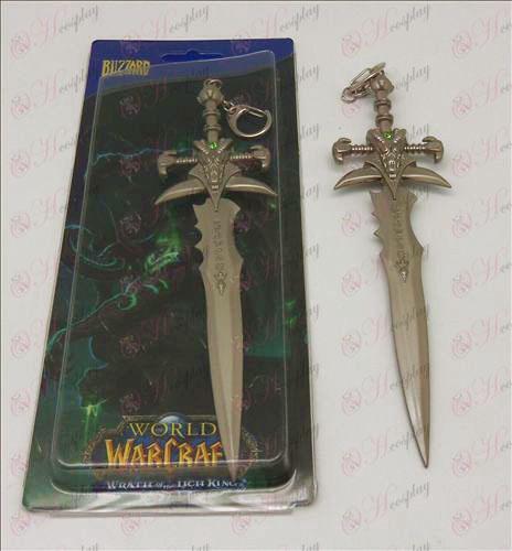 Agonía de Escarcha espada hebilla (color perla)