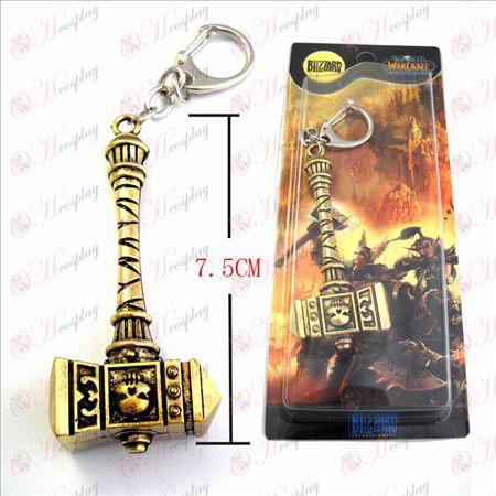 World of Warcraft Tilbehør Marshal Warhammer Verden Bronze nøkkelring