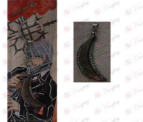 Vampire knight Accessories Flower Moon keychain