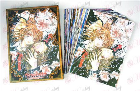 Vampire Knight doplnky Pohľadnice + karta 2