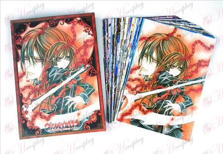 Vampire Knight doplnky Pohľadnice + karta 1