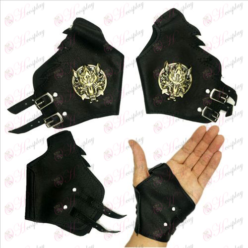 Final Fantasy Accessories Gloves copper wolf scalp